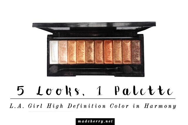 la girl high definition color palette harmony