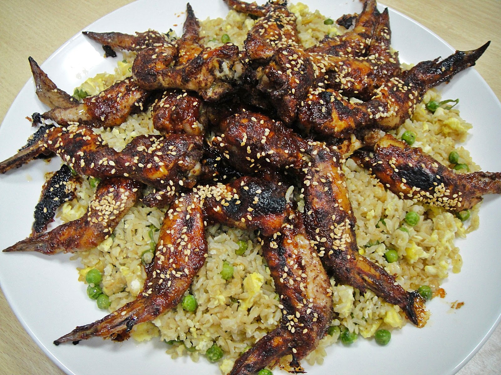 Maryams culinary wonders 676 chinese 5 spice chicken and brown chinese 5 spice chicken and brown fried rice i watched jamie oliver make ccuart Choice Image