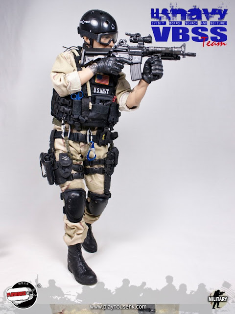 ... Playhouse 1/6th scale U.S. Navy VBSS Team 12-inch Figure is not a SEAL