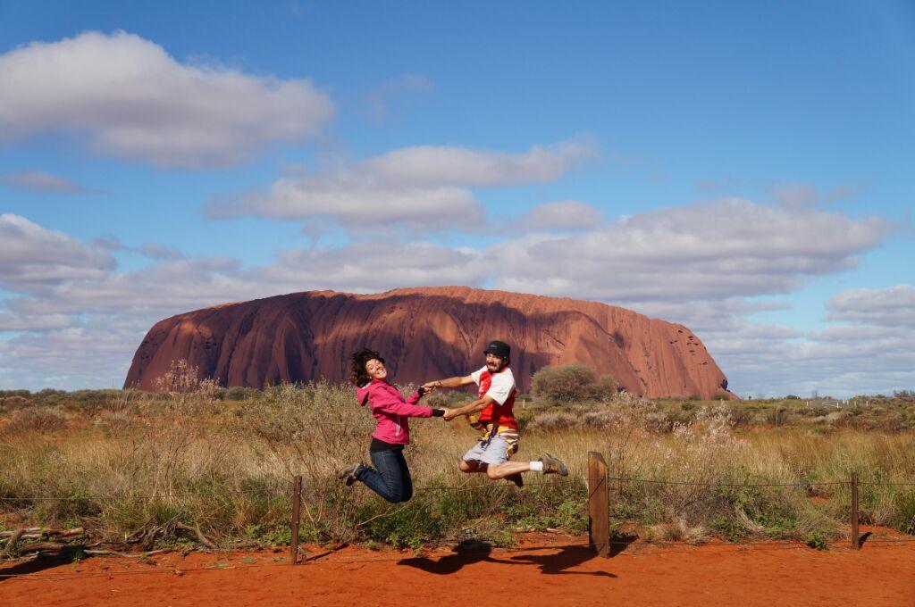 Jump à Uluru