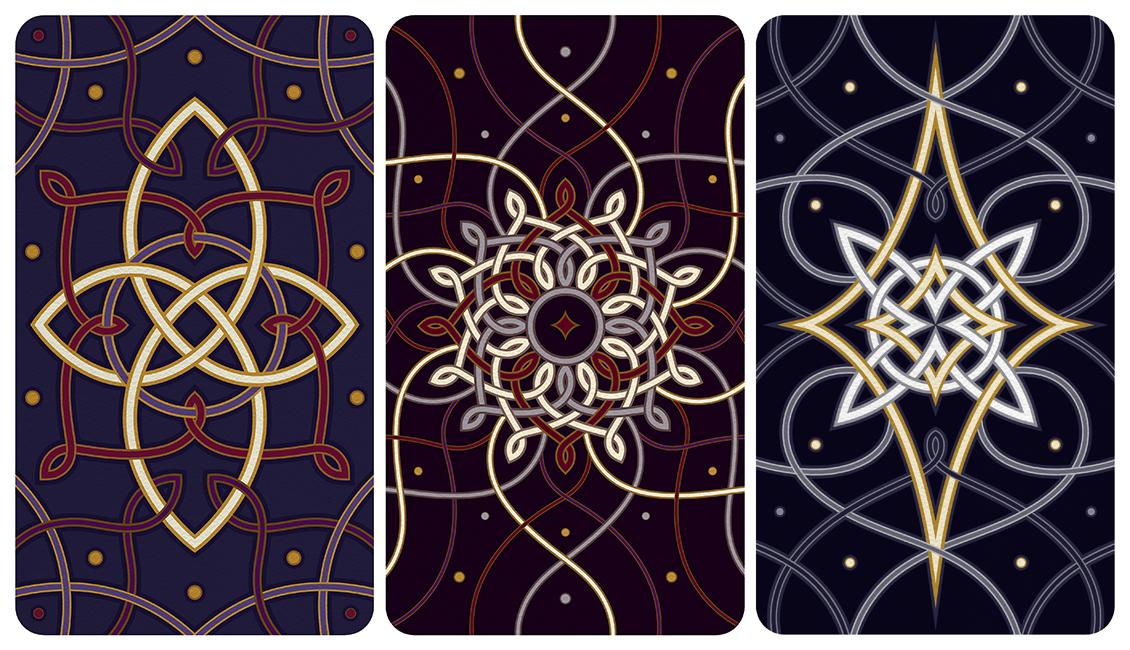Meticulous Madness Ostara Tarot Card Designs