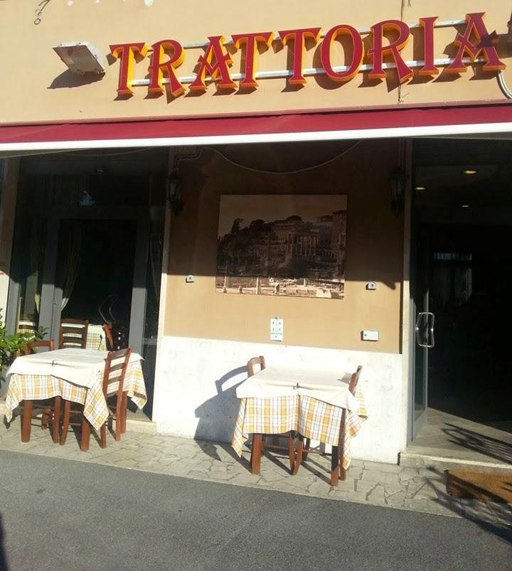 vista dell'ingresso  della  Taverna Portuense
