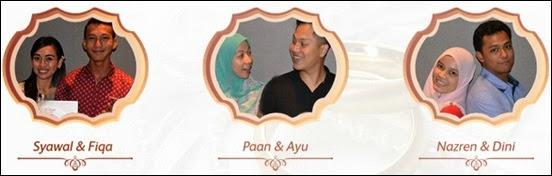 Senarai 10 pasangan peserta bakal pengantin program TV Astro Pelamin Fantasia, perkahwinan impian dan idaman, gambar peserta Pelamin Fantasia