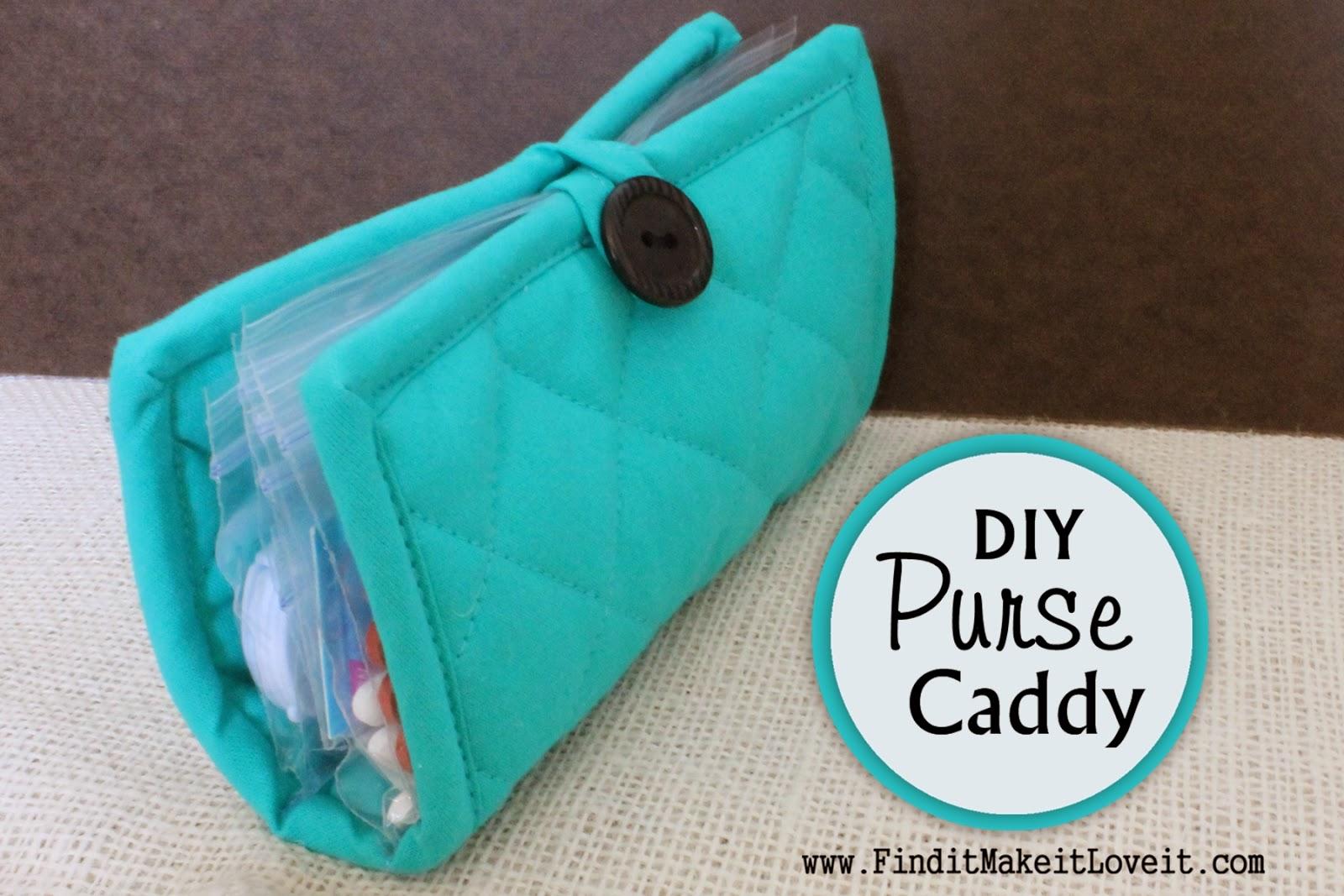 DIY Pot Holder Purse Caddy