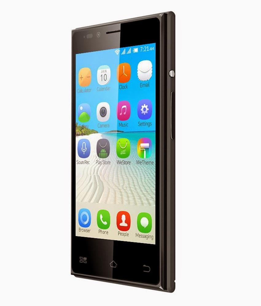 Amazon: Buy BQ S38 Black at Rs.2999