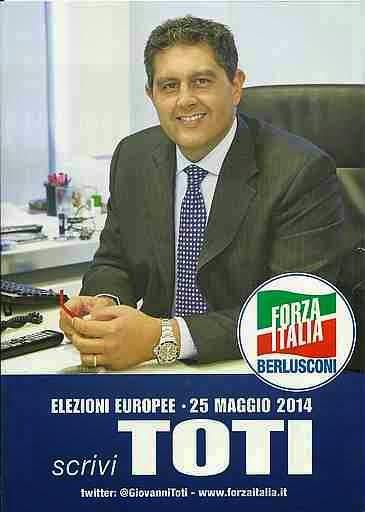 Giovanni TOTI - Forza Italia, candidato al Parlamento Europeo