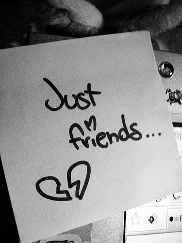 let's just be friends after dating