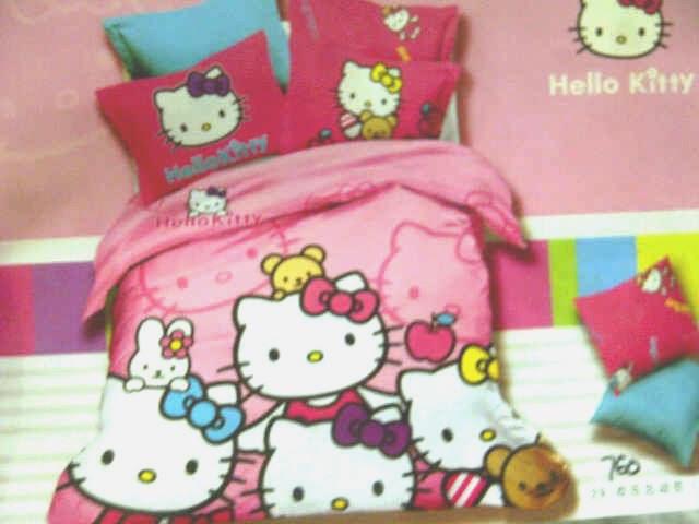 Sprei Jepang Anak Motif Hello Kitty