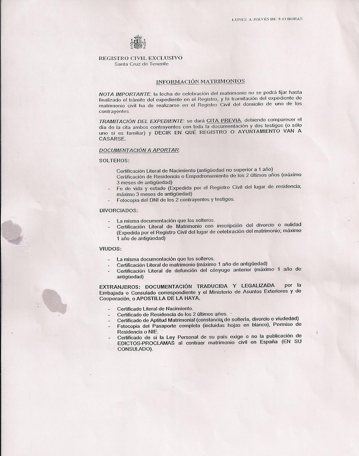 Matrimonio Blog Registro De Nacimiento Colombiano Par Matrimonio En El Exterior