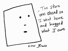 Brooks Cartoons on T-Shirts and Mugs