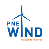 A german wind power plant constructor