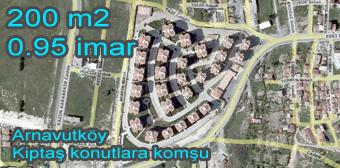 Arnavutköy Kiptaş da satılık arsa