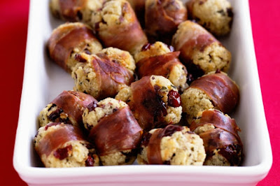 Cranberry stuffing balls Recipe