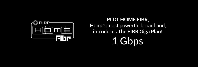 PLDT HOME Fibr 1 Gbps
