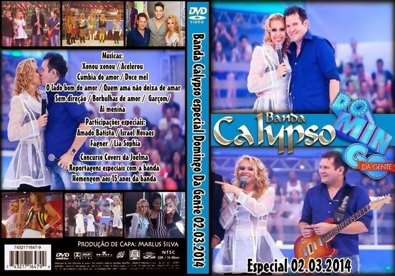 DVD DOMINGO DA GENTE ESPECIAL COM A BANDA CALYPSO