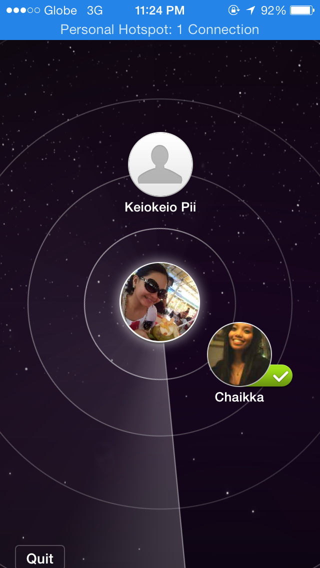 wechat friend radar
