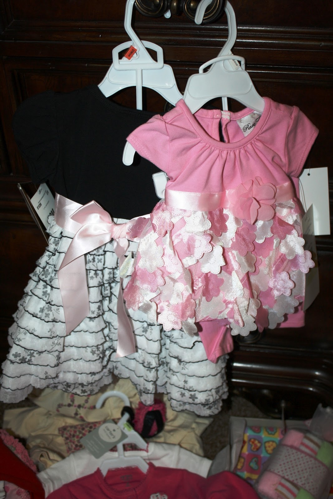 my mom gave me these two outfits i 39 m pretty sure baby girl is going