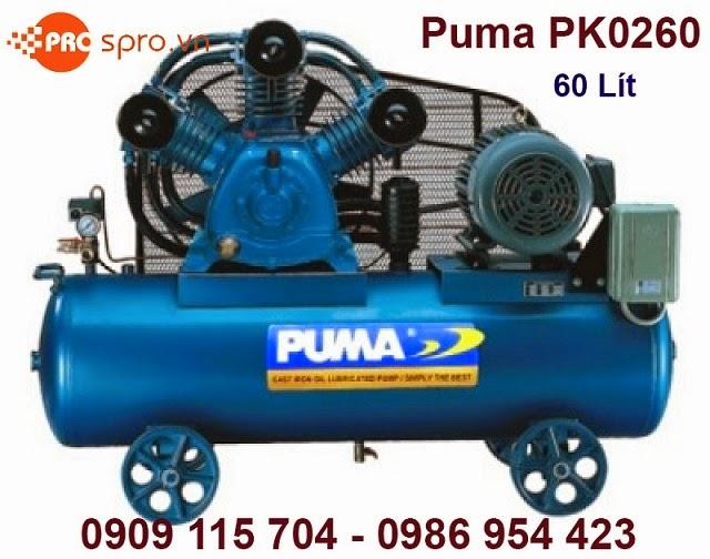Máy nén khí 1/2hp 1 cấp Puma PK0260