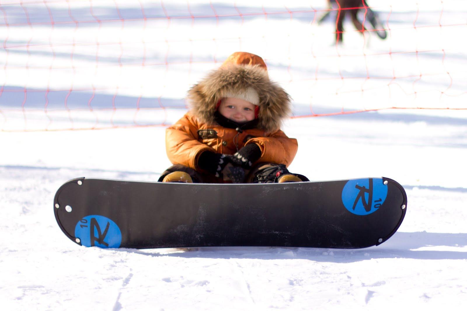 Фото сноуборда для детей