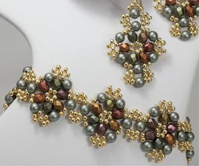 Blossom Bracelet and Earrings