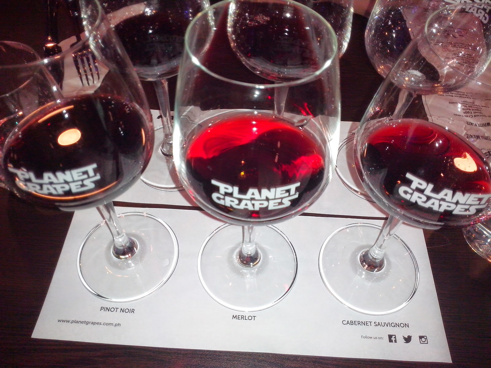 FTW! Blog, Planet Grapes Cebu, #032eatdrink, red wines