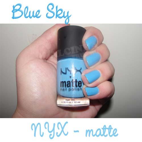 Blue Sky - NYX Matte