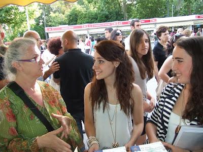 Gracia Iglesias, Feria del Libro de Madrid, Editorial San Pablo, El Tren de los Ronquidos