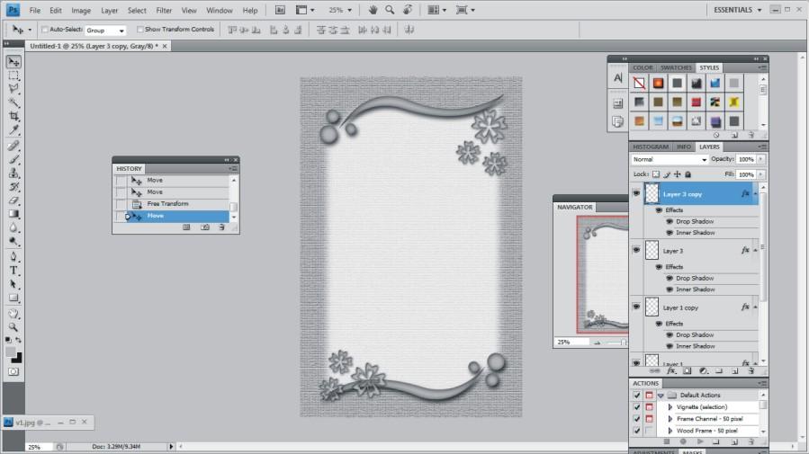 Cara Membuat Bingkai Undangan Menggunakan Corel DRAW dan Photoshop