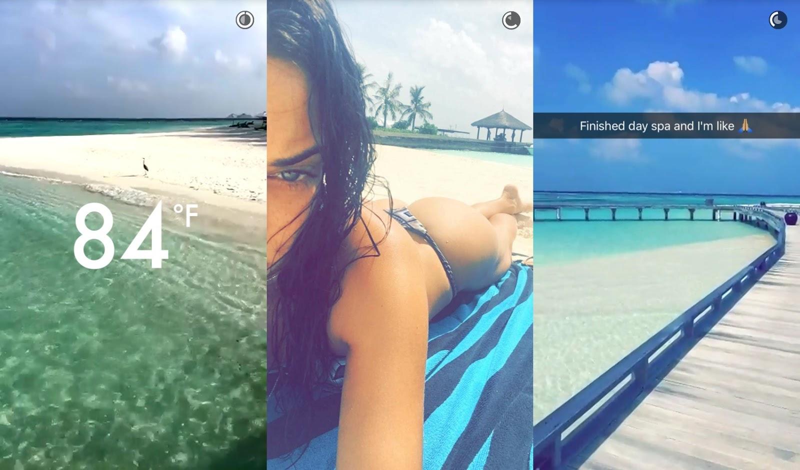 shanina shaik maldives christmas holidays