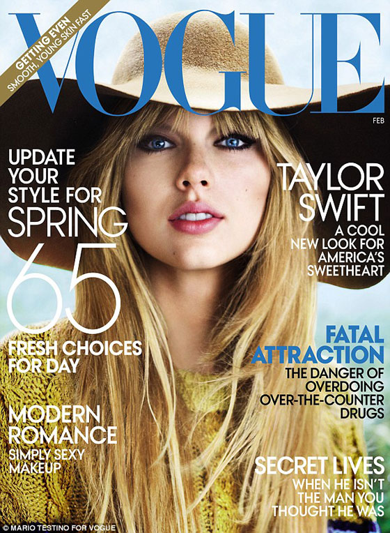 Taylor Swift para Vogue USA febrero