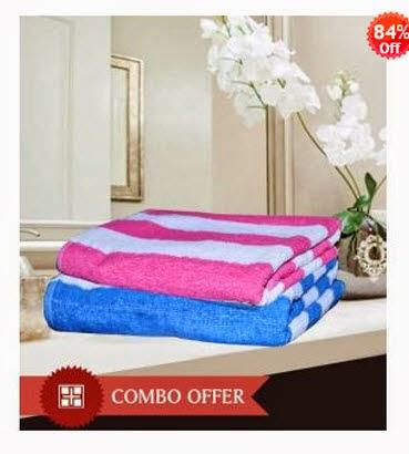 HandloomWala Men & Women King Size Bath Towel