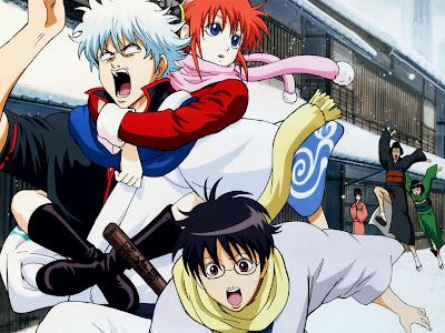 nova temporada do anime Gintama estrelada pelo samurai Ginfoki Sakata estréia em outubro.