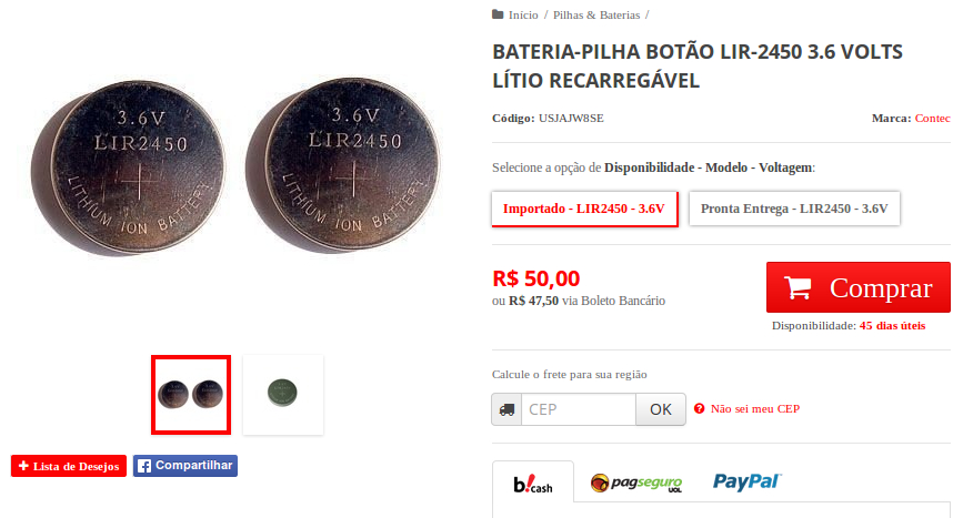 http://www.contec.med.br/bateria-pilha-botao-lir-2450-36-volts-litio-recarregavel.html
