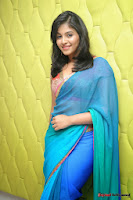 actress anjali hot saree photos at masala telugu movie audio launch+(24) Anjali Saree Photos at Masala Audio Launch