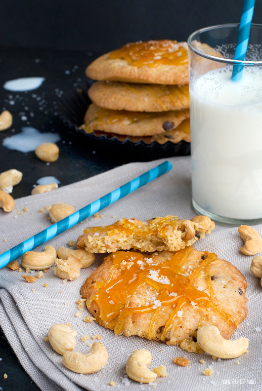 Cookies With Salted Caramel