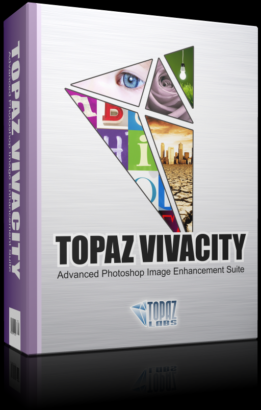 Topaz Vivacity filter for professional skin smoother Reg Version