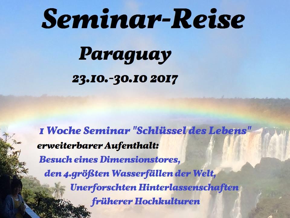 Seminar-Reise nach Paraguay