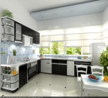 Tủ bếp Laminate 01