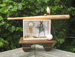 Take Me Out To The Ball Game - Homage to Joseph Cornell