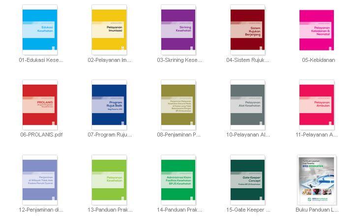 Kumpulan Buku Panduan Praktis BPJS Kesehatan