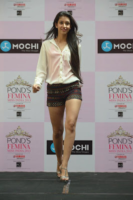 Navneet Kaur Dhillon-Femina Miss India 2013-Free HD Wallpapers