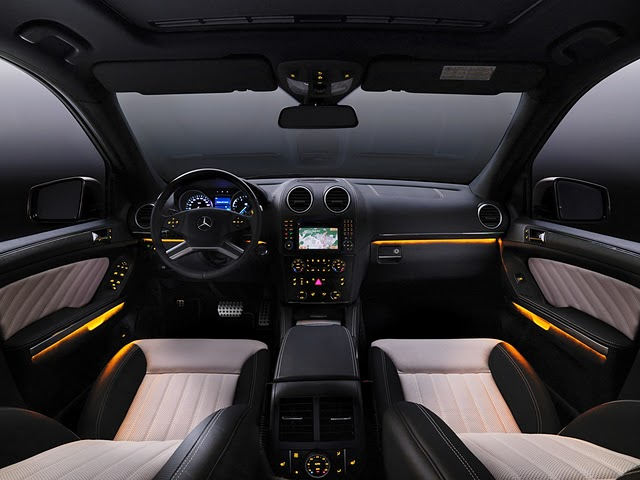 2011 Mercedes-Benz GL-Class Grand Edition interior