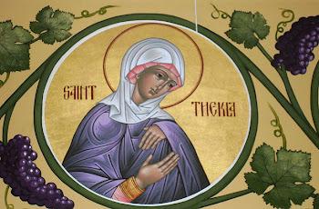 Azi 24 septembrie praznuirea Sfintei  Mare Mucenite Tecla !