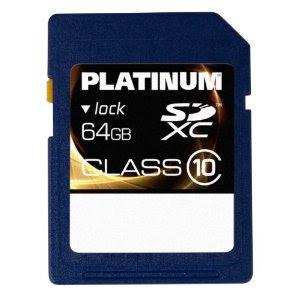 Bestmedia Platinum SDXC 64 GB Class 10 für 29,99 Euro inklusive Versandkosten