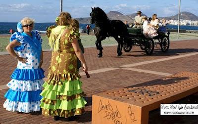 La fiesta de Andalucía en Las Palmas de Gran Canaria