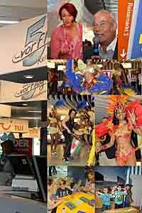 Neue Reisemarkt 2 im Flughafen München eröffnete am 25.05.2014 mit vielen Aktionen