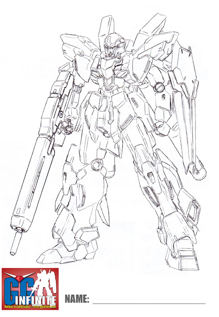sinanju line art coloring pages - photo#11