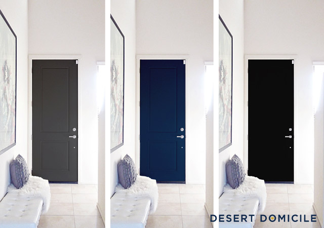 Interior Door Color Choices Desert Domicile