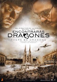 Cartel oficial de la película Encontrarás dragones