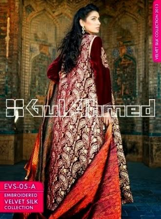 Beautiful Red Velvet Silk Long Coat
